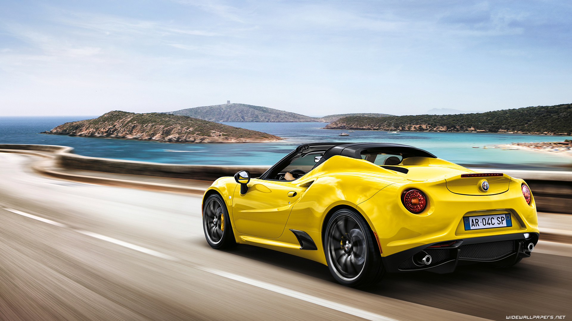 Alfa Romeo 4c Cars Desktop Wallpapers Hd And Wide Wallpapers