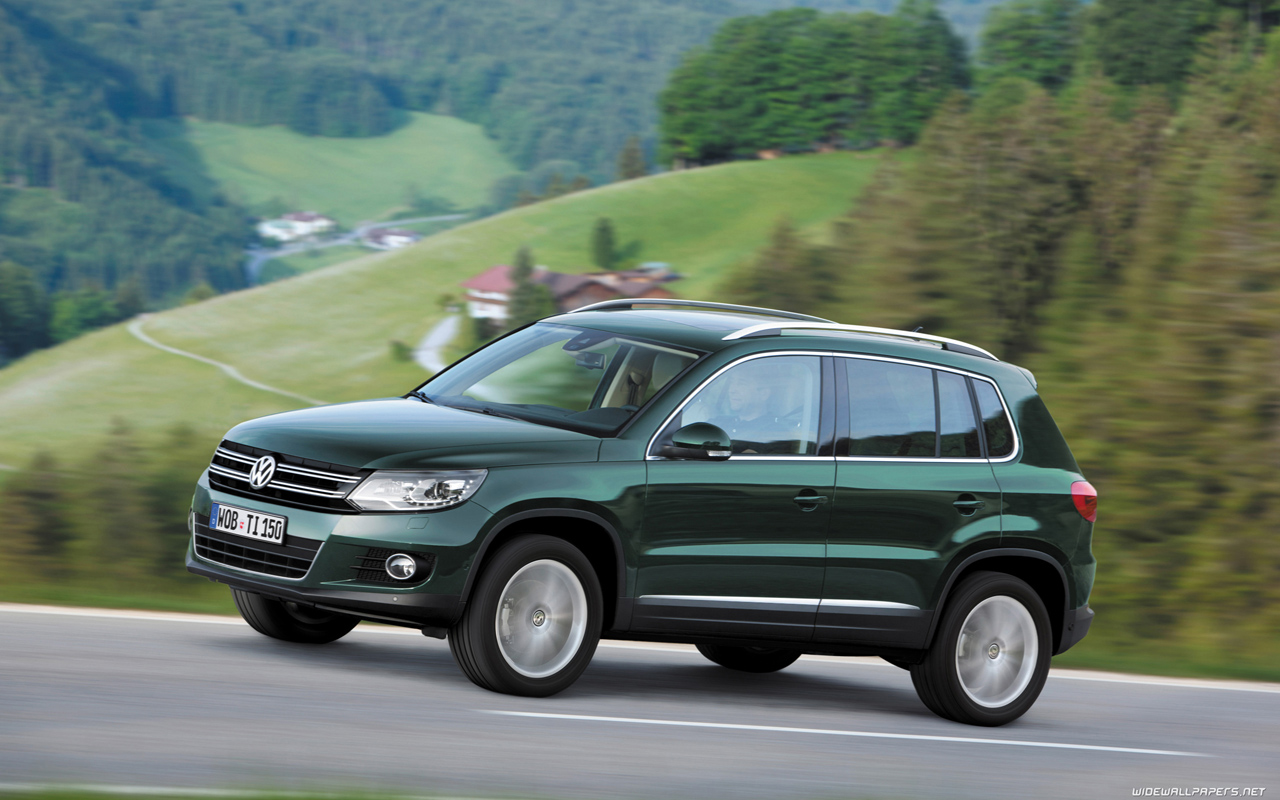 volkswagen tiguan cars desktop wallpapers hd and wide. Black Bedroom Furniture Sets. Home Design Ideas