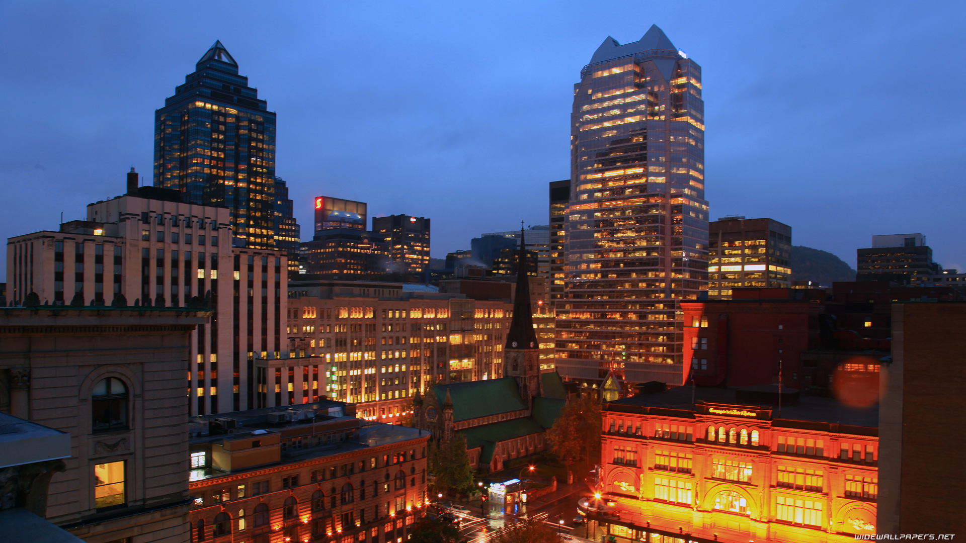 Montreal City Desktop Wallpapers Hd And Wide Wallpapers