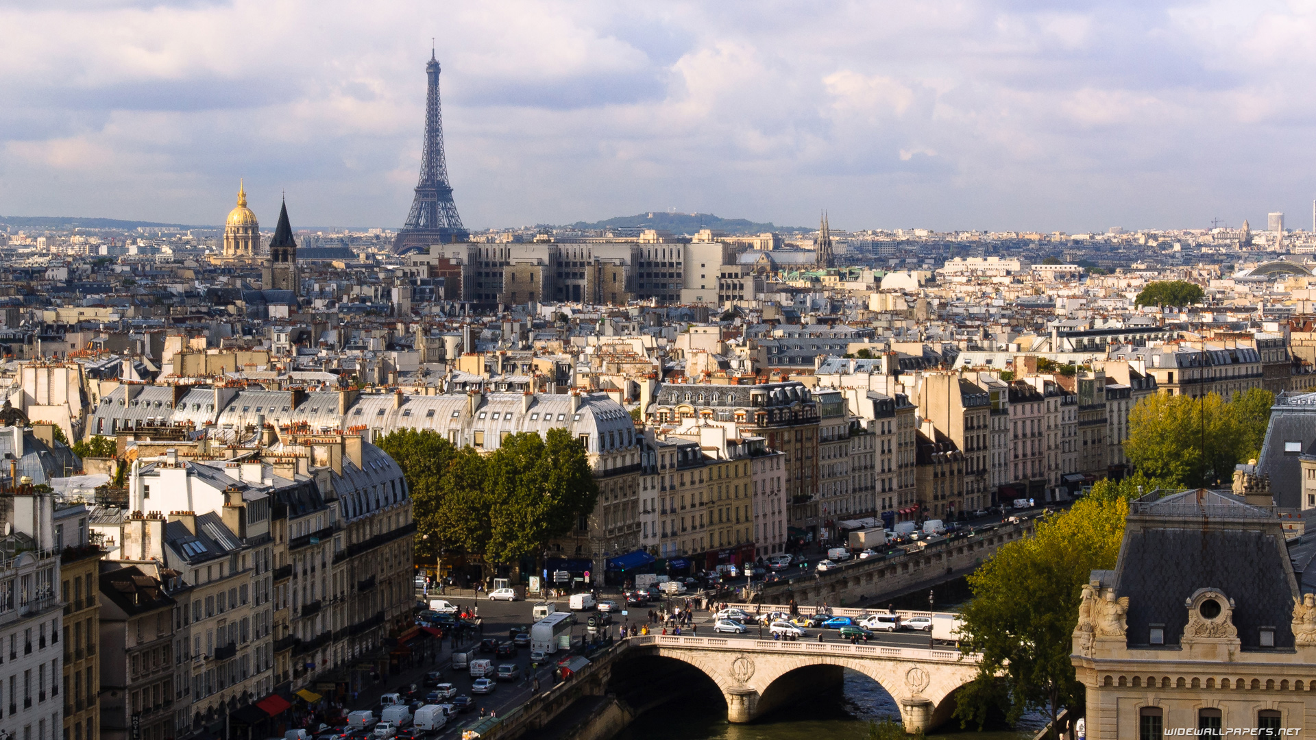 1920x1080 paris cityscape desktop - photo #2