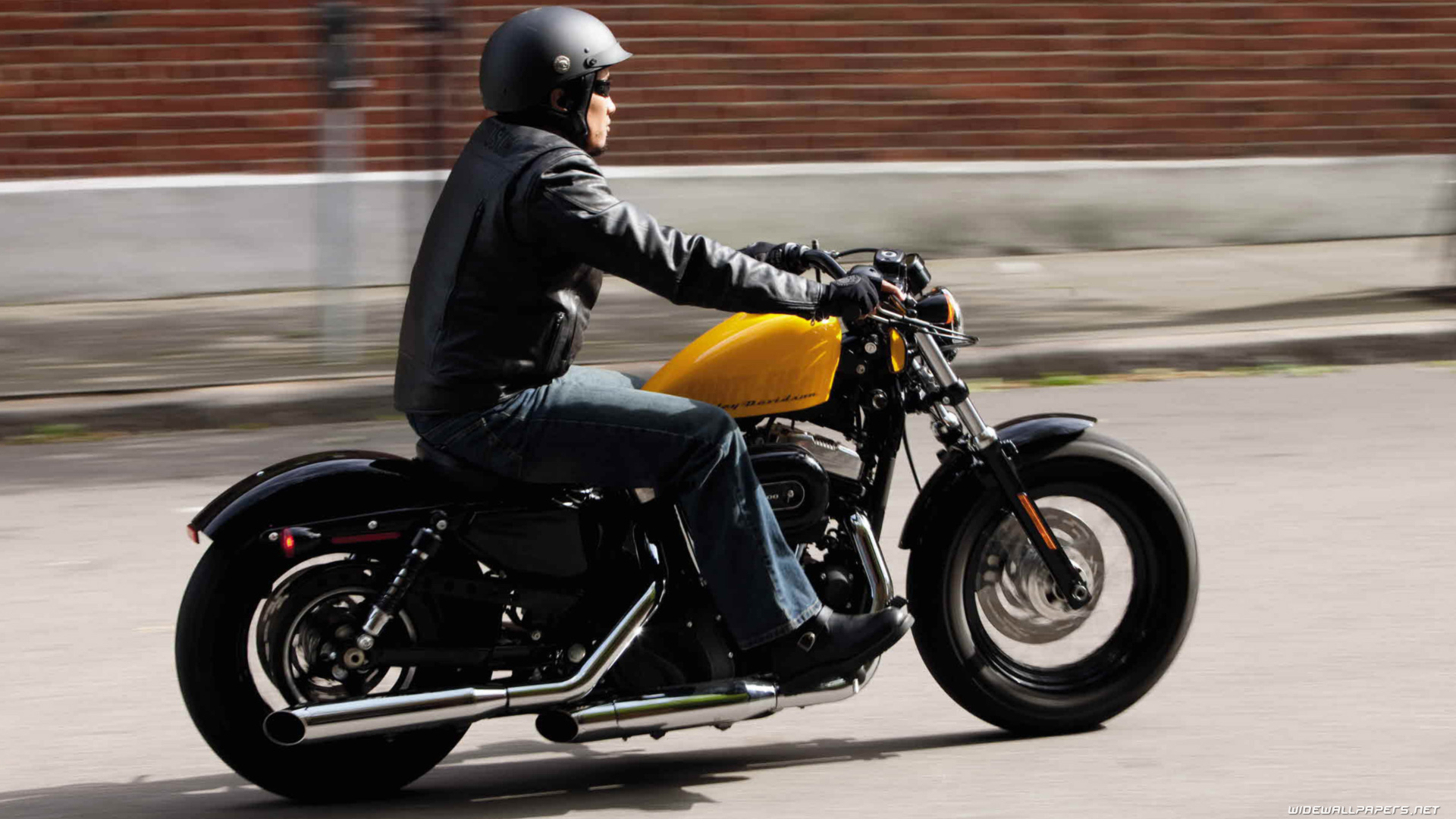 Harley Davidson Sportster Forty Eight Motorcycle Wallpapers