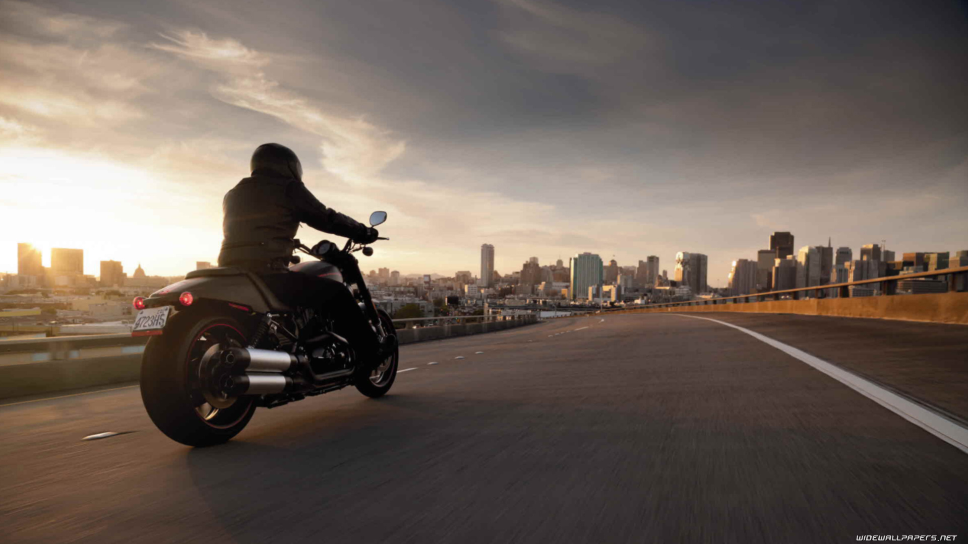 Harley-Davidson Sportster XR1200X motorcycle wallpapers