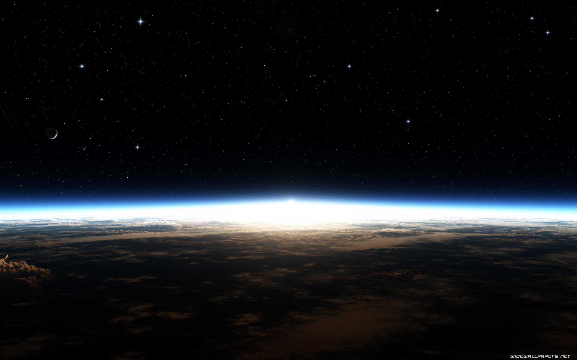 Earth view from space desktop wallpapers HD and wide ...
