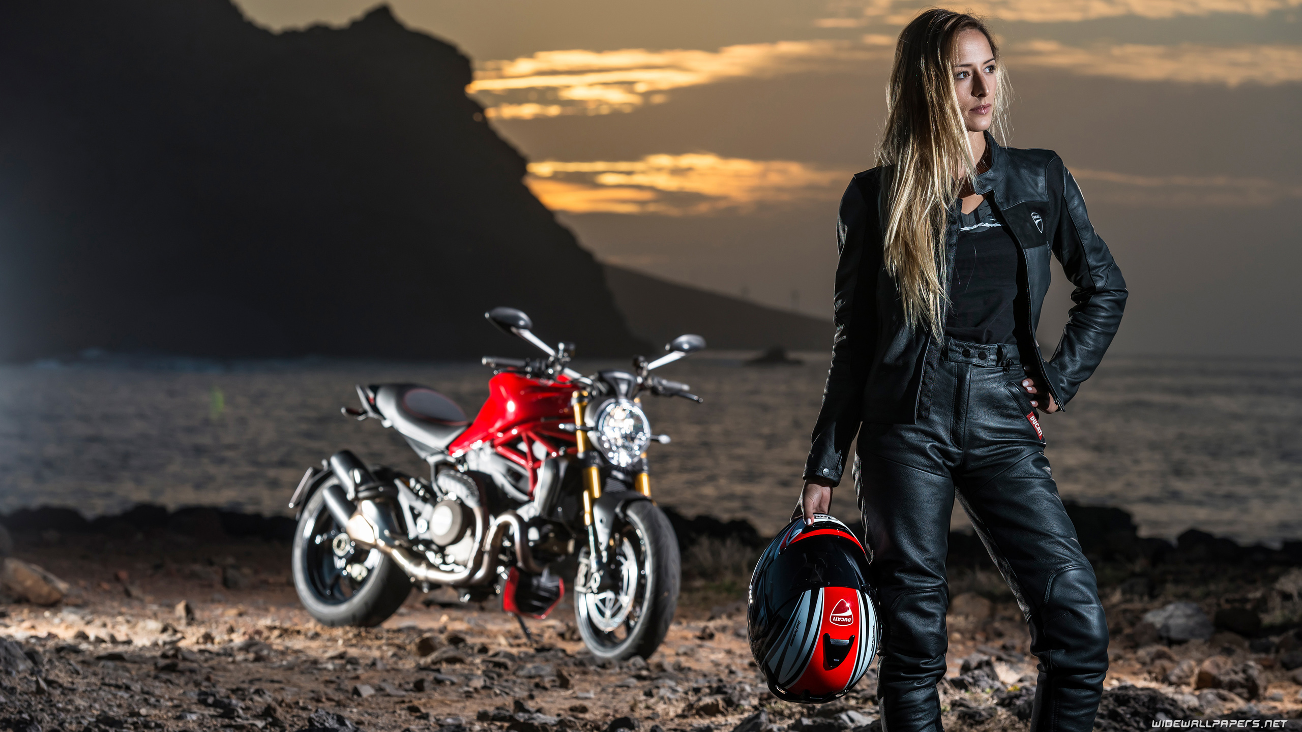 woman with heavy bikes wallpapers - photo #5