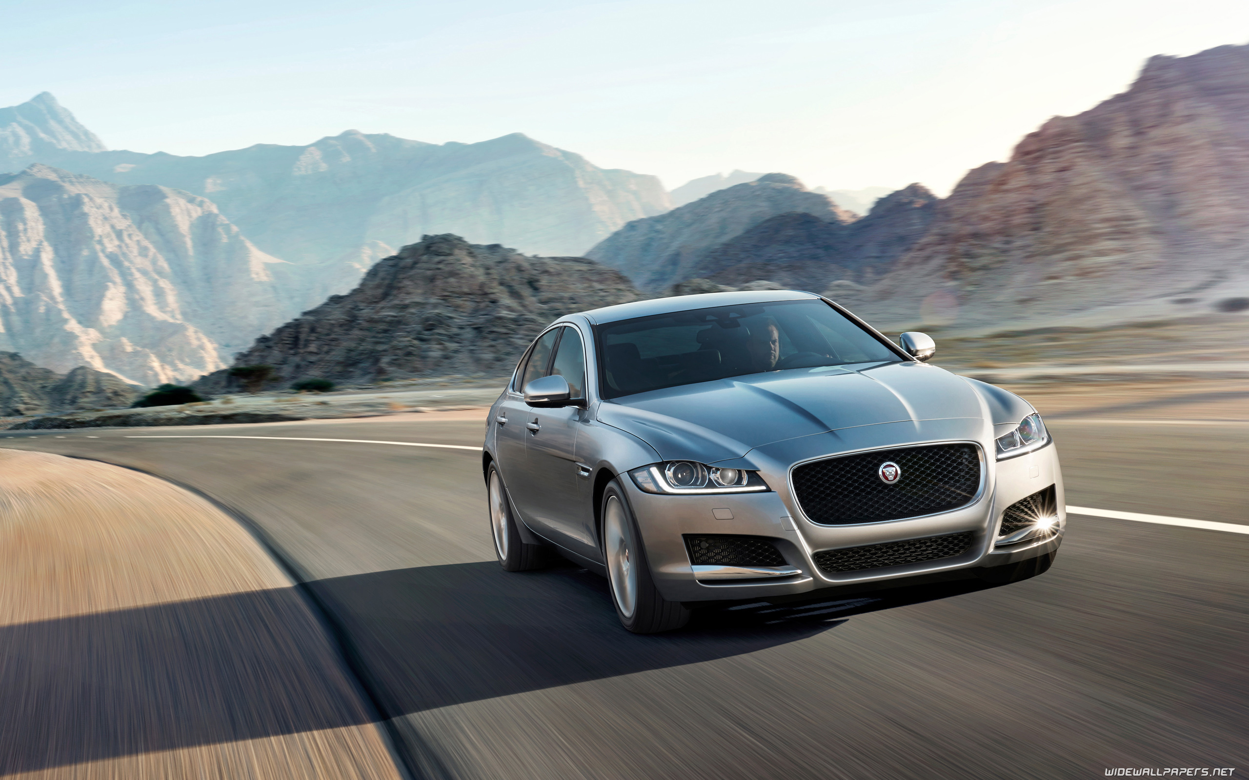 Wallpapers 4K Ultra HD Jaguar XF Prestige 2560x1440 2560x1600 3840x2160