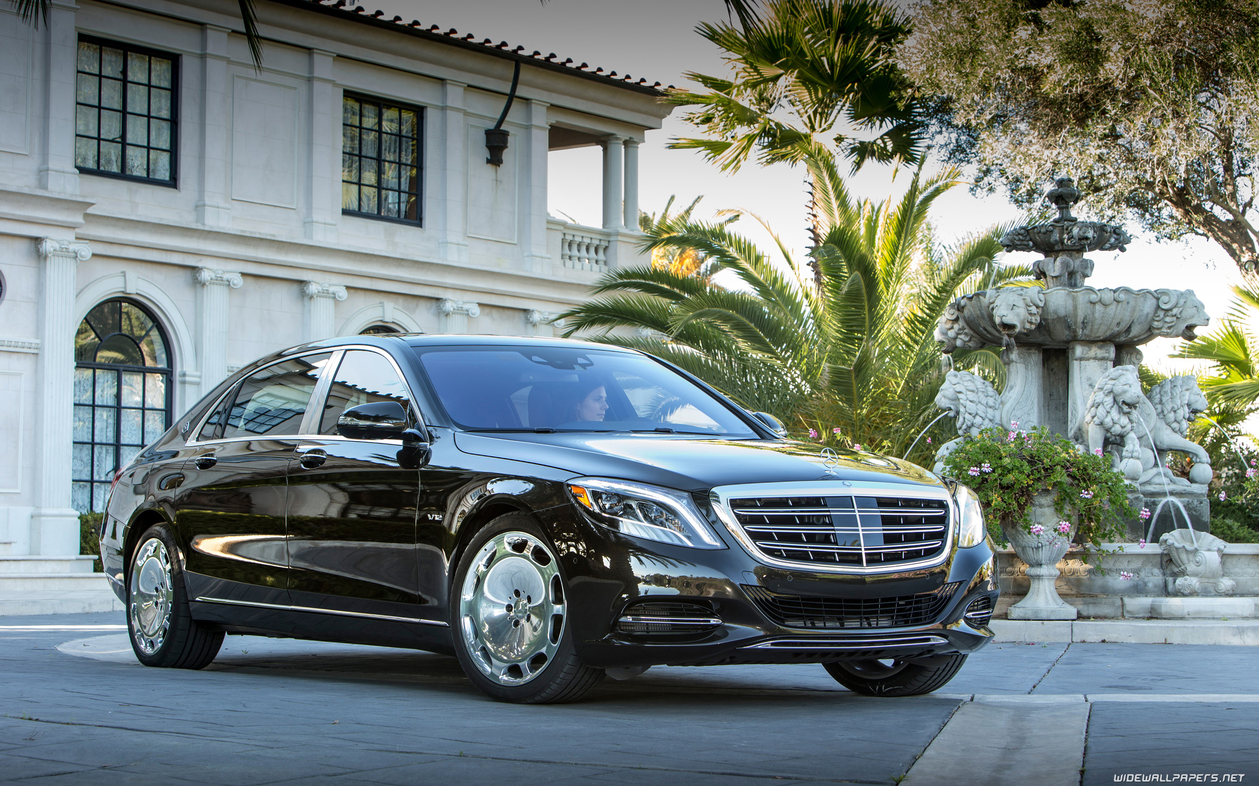 mercedes maybach s600 us spec 2560x1440 2560x1600 3840x2160