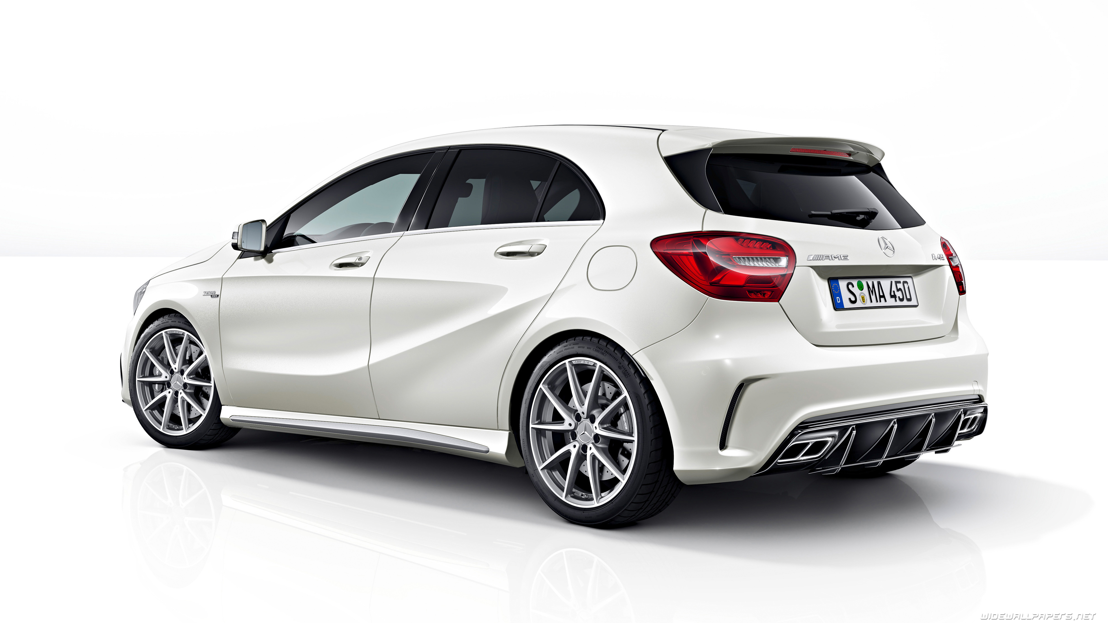 Mercedes benz a class cars desktop wallpapers 4k ultra hd for Mercedes benz a 45 amg 4matic