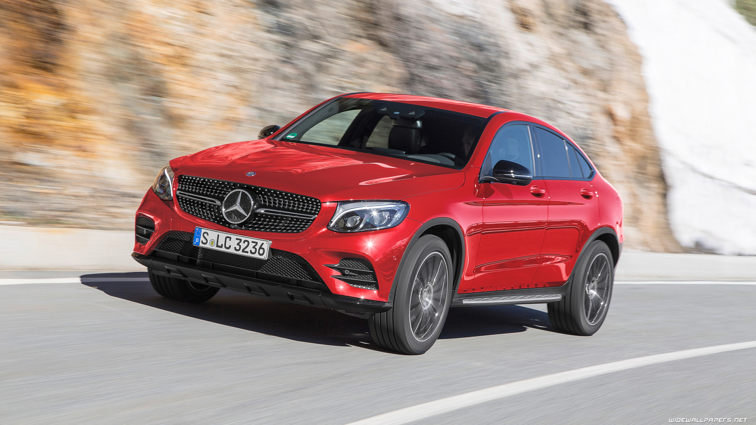 Mercedes benz glc 350 d coupe amg line 2016 wallpapers and hd images -  Wallpapers 4k Ultra Hd Mercedes Glc 350 D Coupe Amg Line 2560x1440 2560x1600 3840x2160