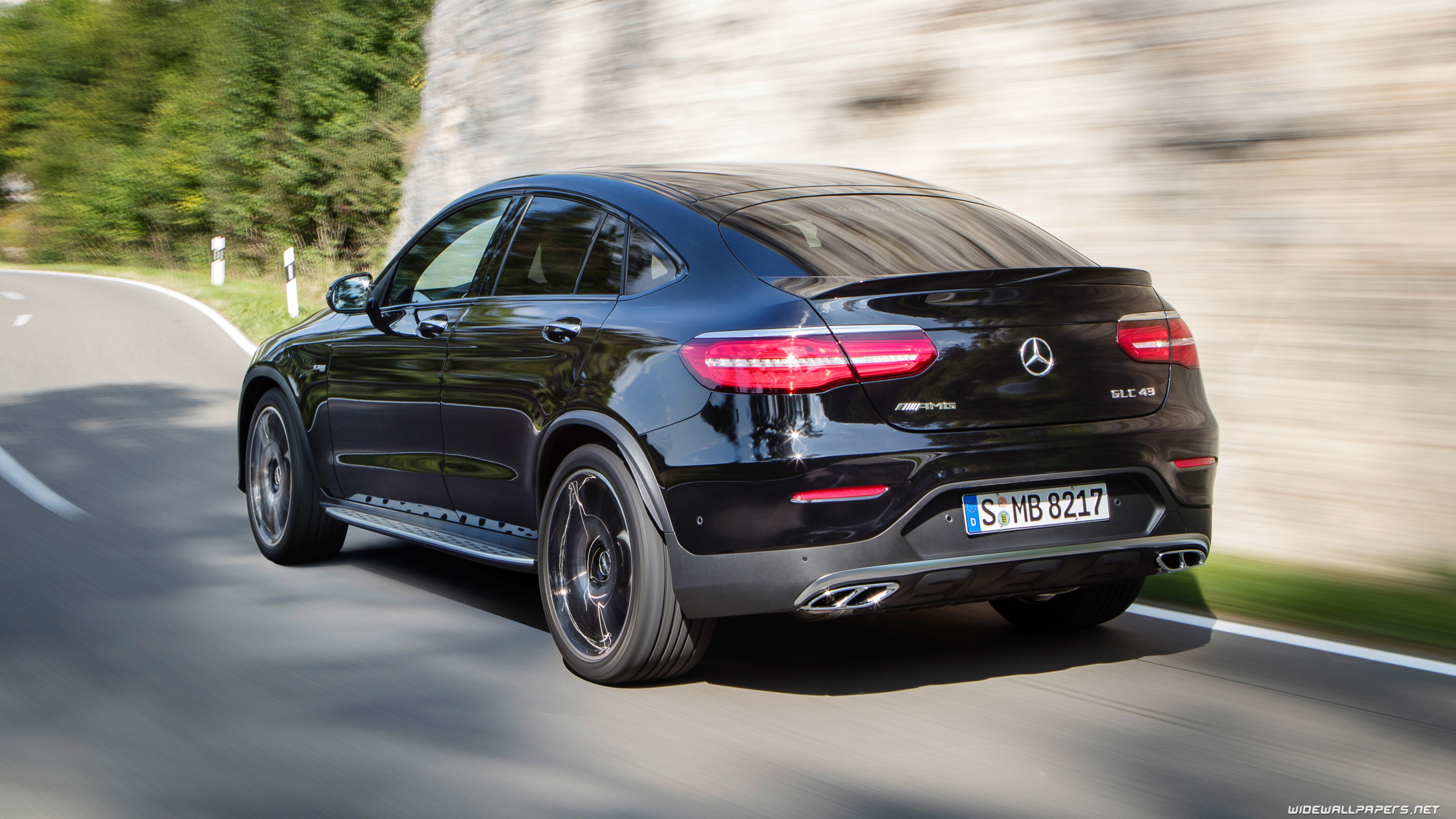 Mercedes Benz Glc Class Coupe Cars Desktop Wallpapers 4k Ultra Hd Page 2