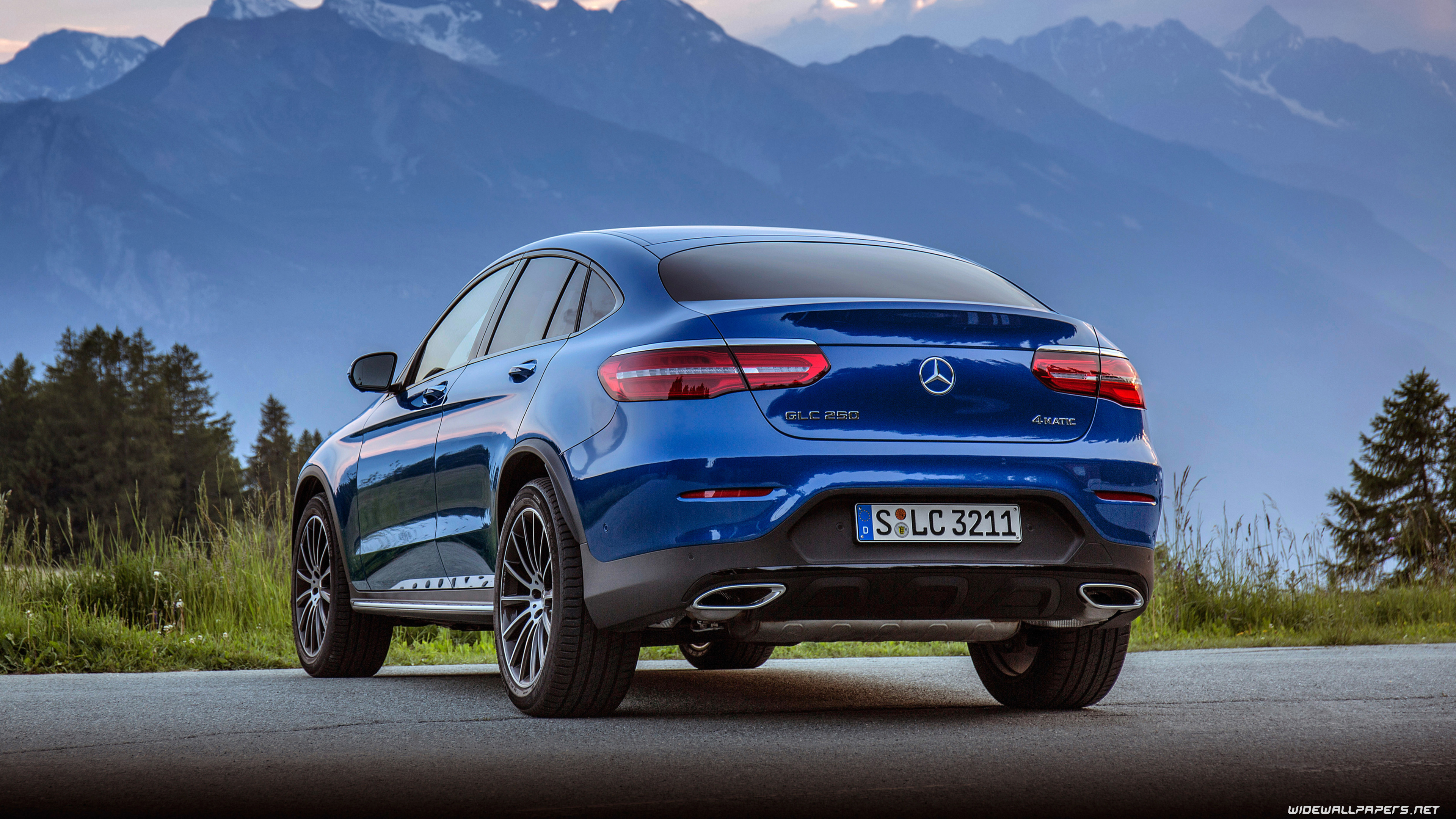 Mercedes benz glc class coupe cars desktop wallpapers 4k for Mercedes benz cars com