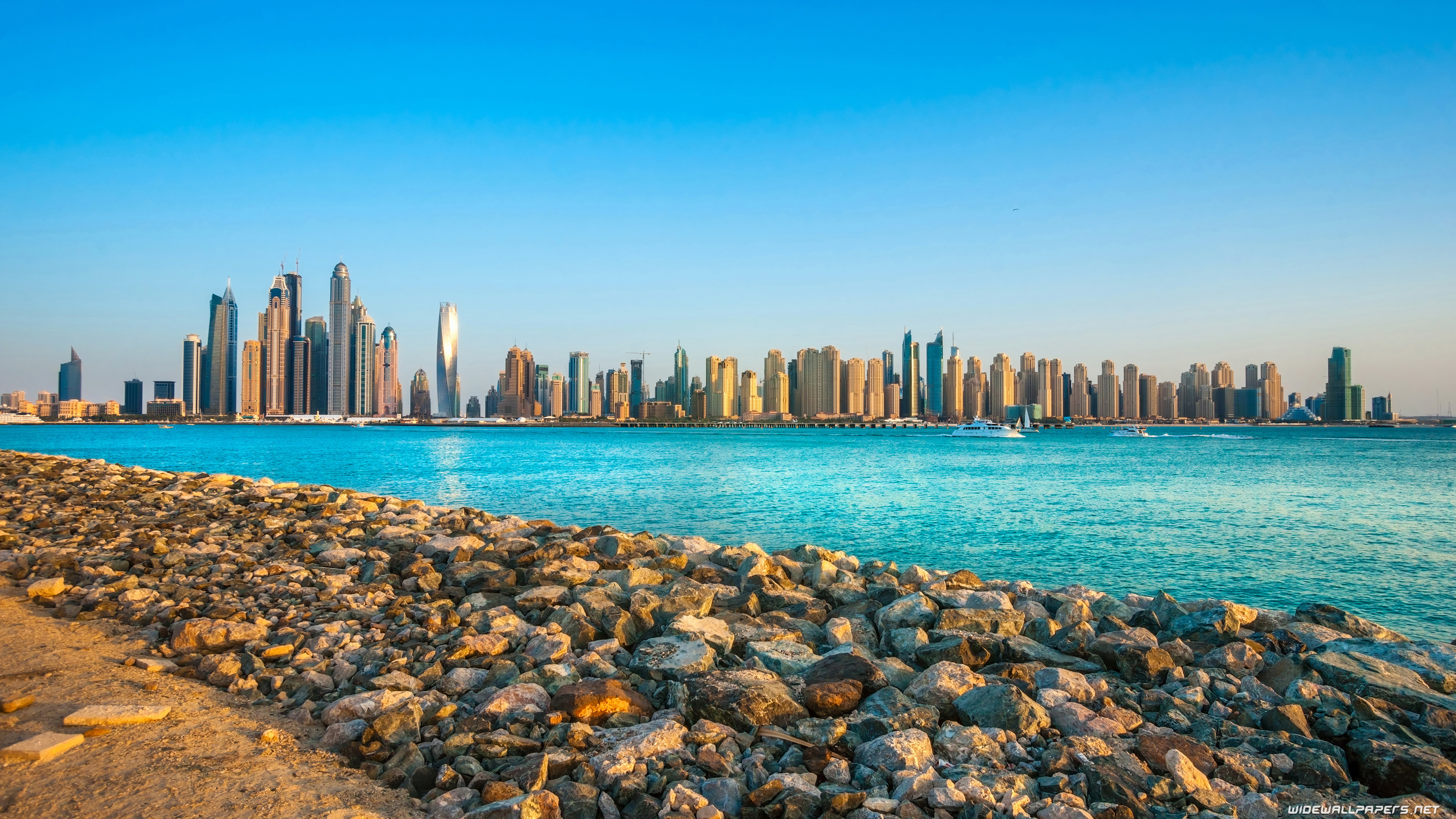 Dubai city desktop wallpapers 4k ultra hd for Immagini desktop 4k