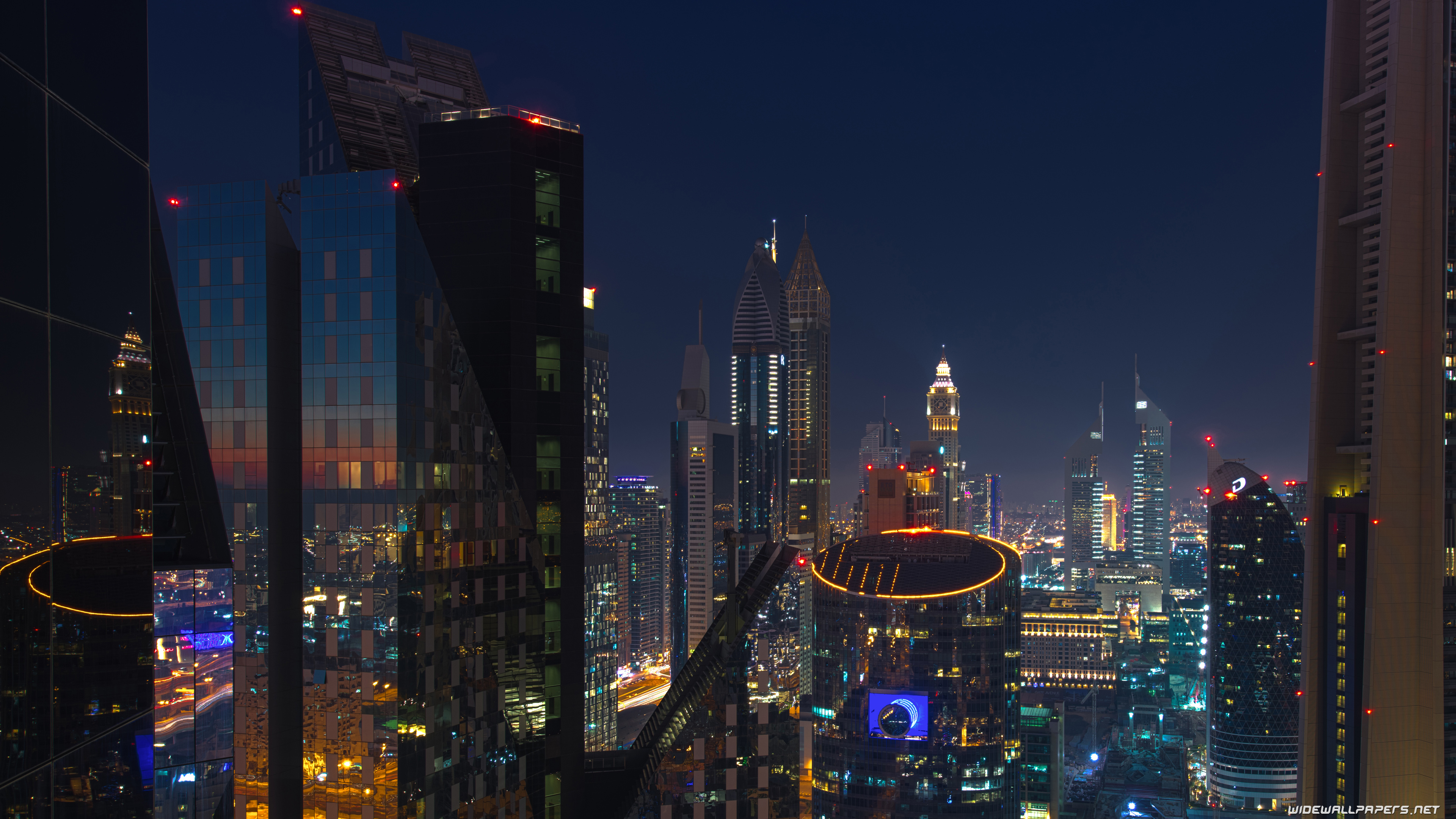 Dubai desktop wallpapers 4K Ultra HD