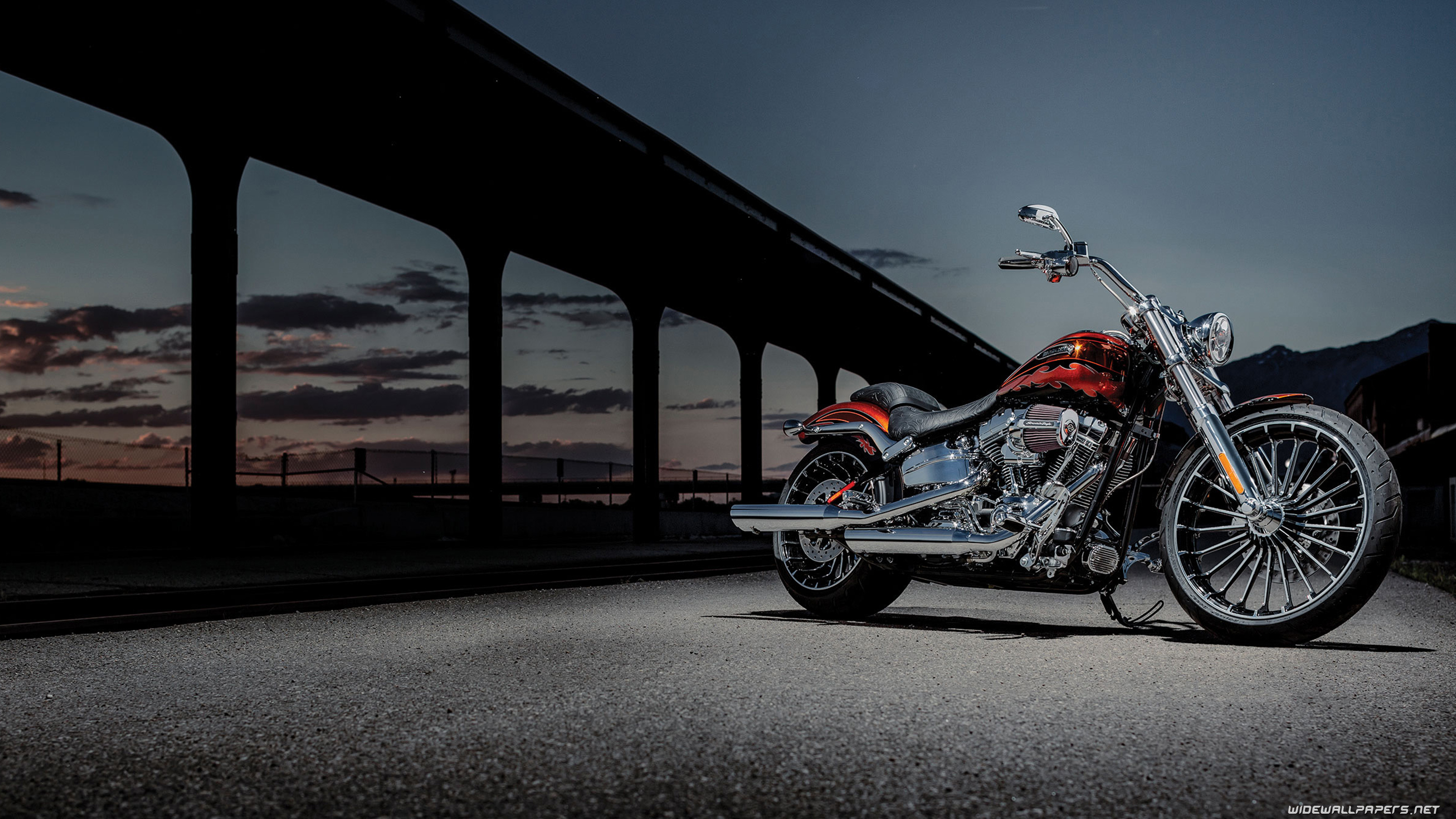 harley-davidson cvo motorcycle desktop wallpapers 4k ultra hd