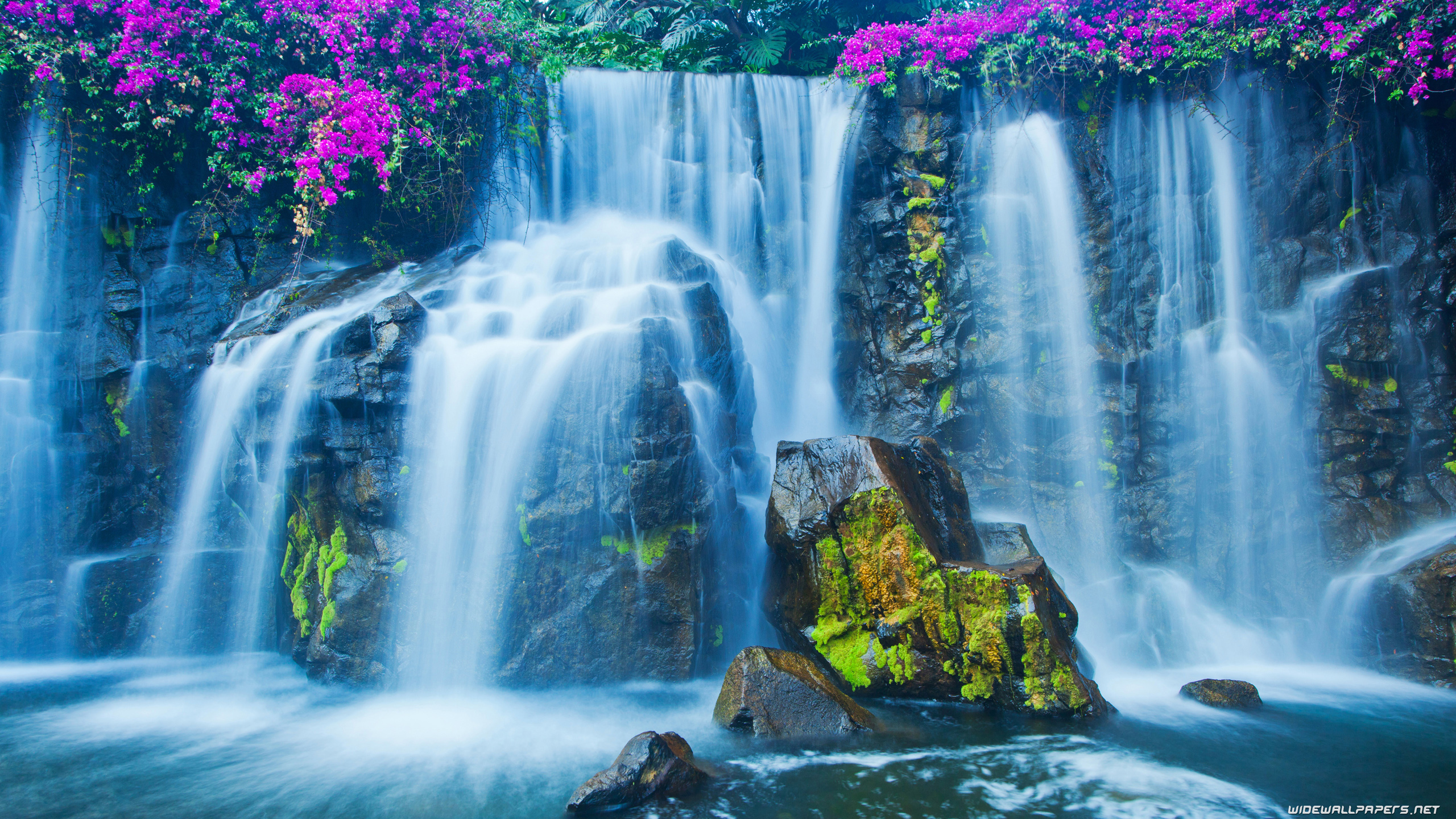 Simple Wallpaper Desktop Background Waterfall - waterfall-2560x1440-008  Best Photo Reference_433354 .jpg