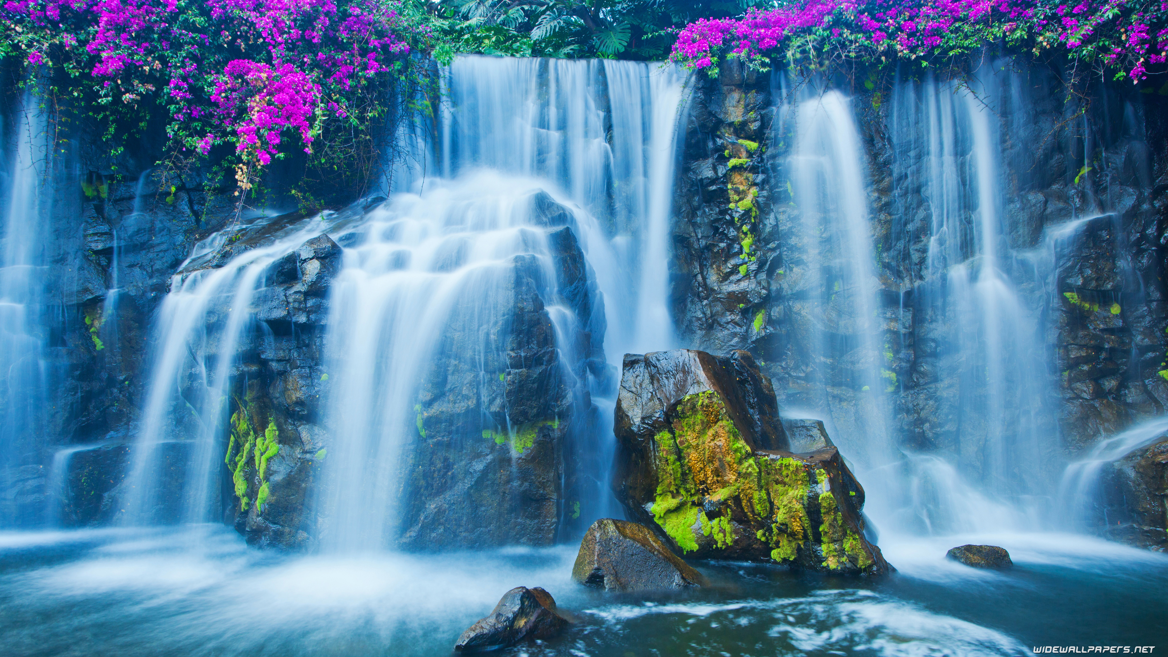 waterfalls desktop wallpapers 4k ultra hd